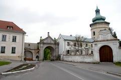 Zhovkva Castle, the Sobieski residence in Zhovkva Royalty Free Stock Photos