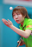 ZHU_Yuling_(CHN) Stock Image