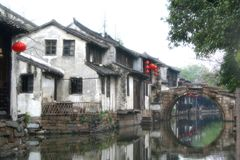 Zhuang dello Zhou (città dello Zhou) Fotografia Stock Libera da Diritti