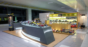 Zhuhai airport - Aircraft model shop Stock Photography