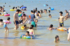 Zhuhai beach weekend Royalty Free Stock Photos