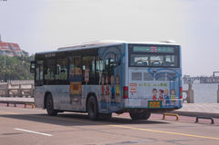 Zhuhai,bus in city Stock Photography