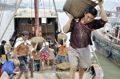 Zhuhai,china: fish pier Stock Images