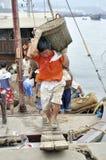 Zhuhai,china: fish pier Royalty Free Stock Images