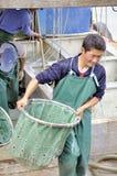 Zhuhai,china: fish pier Royalty Free Stock Photos