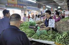 Zhuhai,china: market Royalty Free Stock Photos