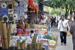 Zhuhai, China: Mercado por atacado Fotografia de Stock