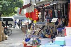 Zhuhai, China: Mercado por atacado Fotografia de Stock Royalty Free