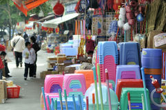 Zhuhai,China:Wholesale market Stock Photos