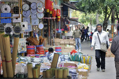 Zhuhai,China:Wholesale market Stock Photography