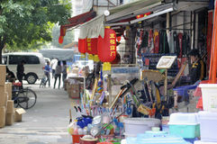 Zhuhai,China:Wholesale market Royalty Free Stock Photography