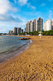 Zhuhai City, Guangdong Province sandy beach scenery Royalty Free Stock Photography