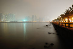 Zhuhai city night scene Stock Photo