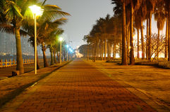 Zhuhai city night scene Stock Images
