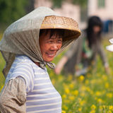 Zhuhai Doumen rural women Stock Images
