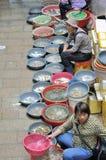 Zhuhai,fish market outdoor Stock Photo