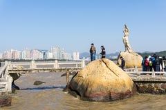Zhuhai Fisher Girl Stockfotografie