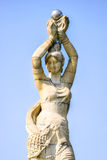 The Zhuhai Fisher Girl Statue is the landmark of Zhuhai city, China Stock Images