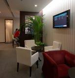 Zhuhai-Flughafen - vip-Aufenthaltsraum Lizenzfreies Stockfoto