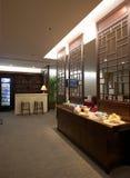 Zhuhai-Flughafen - vip-Aufenthaltsraum Lizenzfreie Stockfotografie