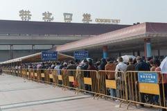Zhuhai Gongbei port Royalty Free Stock Photography