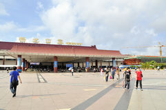 Zhuhai, Gongbei port Stock Photo