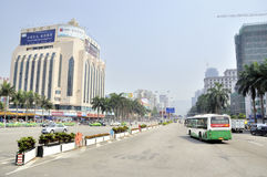 Zhuhai, Gongbei Road Stock Photography