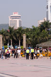 Zhuhai, Gongbei Road Royalty Free Stock Photo