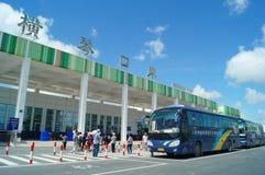 Zhuhai Hengqin port, in China Stock Photo