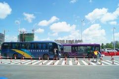 Zhuhai Hengqin port, in China Royalty Free Stock Images