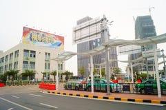 Zhuhai Hengqin port Stock Photo