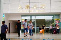 Zhuhai Hengqin port Stock Image