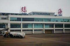 Zhuhai Jinwan Airport in China Stock Photos