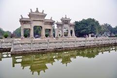 zhuhai meixi paifang Στοκ φωτογραφία με δικαίωμα ελεύθερης χρήσης