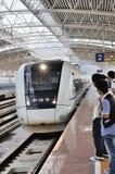 Zhuhai norr järnväg station Arkivfoton