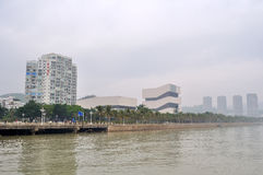 Zhuhai Planning Exhibition Hall Stock Photos