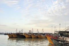 Zhuhai,port of Xiangzhou Royalty Free Stock Photography
