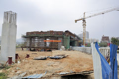 Zhuhai railway station site Royalty Free Stock Photo