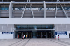 Zhuhai railway station ticket hall Royalty Free Stock Photography