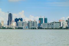 Zhuhai skyline Royalty Free Stock Photo