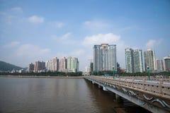 Zhuhai Xiangzhou Lovers Road Wild Beaver Bay Island Bay Stock Photos