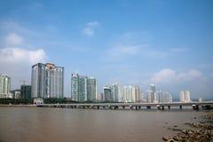 Zhuhai Xiangzhou Lovers Road Wild Beaver Bay Island Bay Royalty Free Stock Photography
