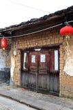 Zhuji antyczny pas ruchu w Chiny Obrazy Stock
