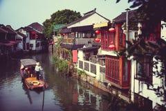 Zhujiajiao stockfotos