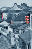 Zhujiajiao Town in Shanghai Royalty Free Stock Photo