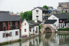 Zhujiajiao Town in Shanghai Royalty Free Stock Photos