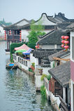 Zhujiajiao Town in Shanghai Royalty Free Stock Photography