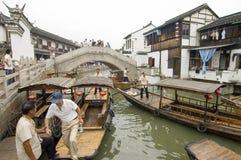 Zhujiajiao Town in Shanghai Stock Images