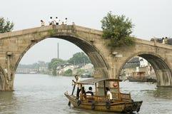 Zhujiajiao Town in Shanghai Stock Photo
