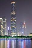 Zhujiang new town at night 2 Royalty Free Stock Photography